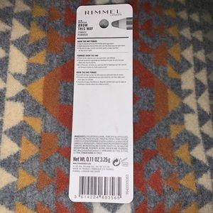 Rimmel London Makeup - Rimmel London Brow This Way Pomade Dark Brown 003